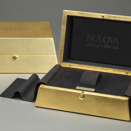 Case Study – Bulova Gold Box