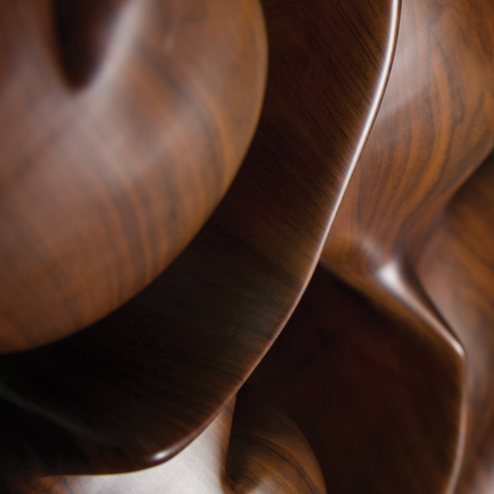 Sculptural Wood Neckforms